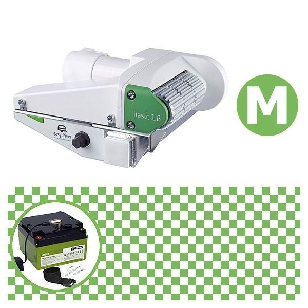 Easydriver basic 1.8 Rangierhilfe Reich mit Power Set Green M Enduro