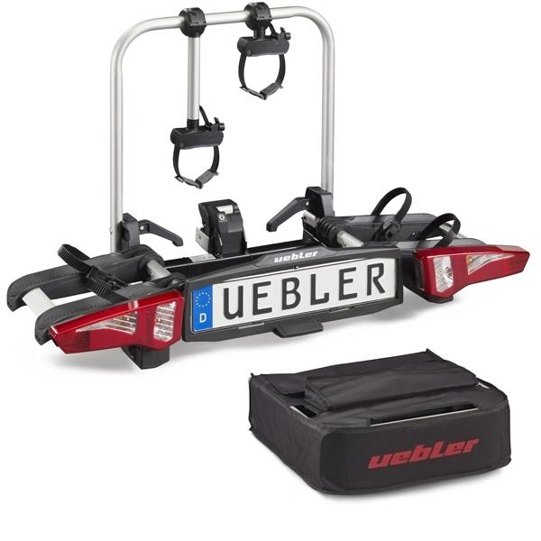 UEBLER i21 Fahrradträger 15930 2 Räder mit 90° Abklappung inkl. Tasche