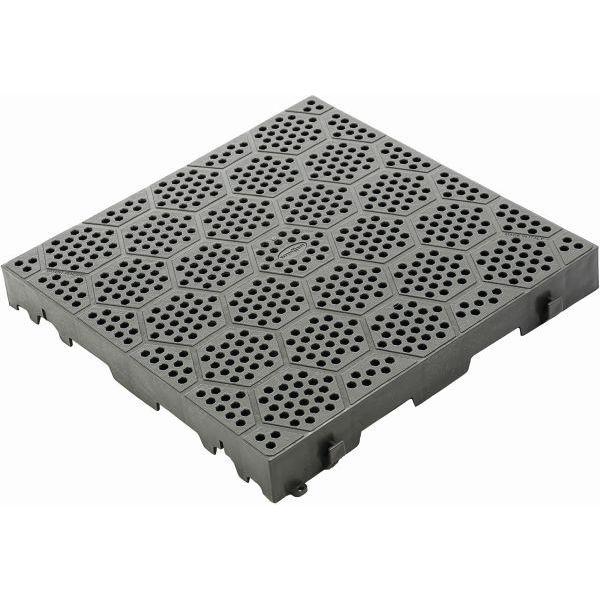 Bodenplatte BRUNNER Kunststoff Rost Deck Fit grau