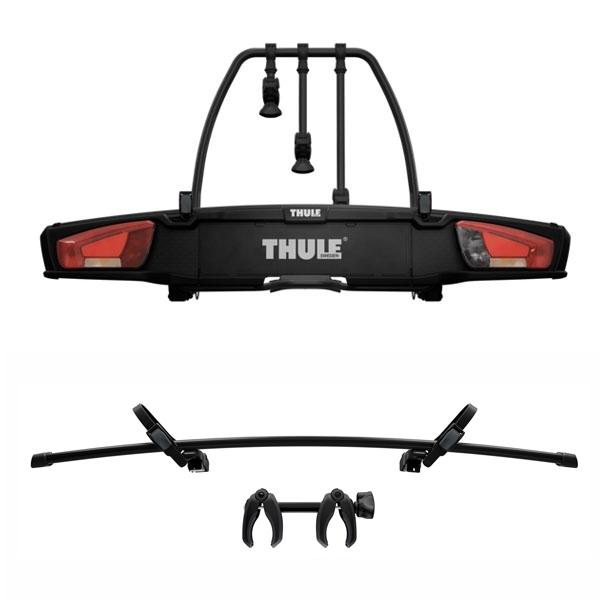THULE 939 VeloSpace XT 3 Fahrradträger black für 4 Räder 3+1 inkl. 9381