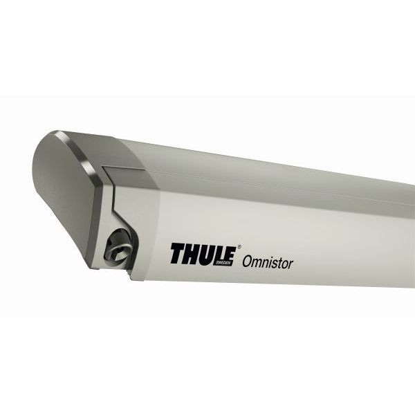 Markise THULE Omnistor 9200 Mystic grau 400 cm Gehäuse cremeweiß