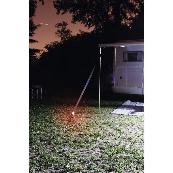 Außenleuchte FIAMMA LED Warning Solar