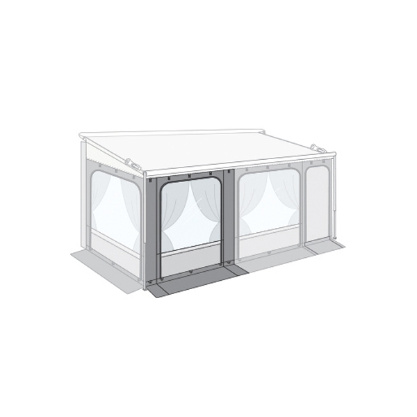 Markise FIAMMA Caravanstore ZIP XL 550 cm Royal grey