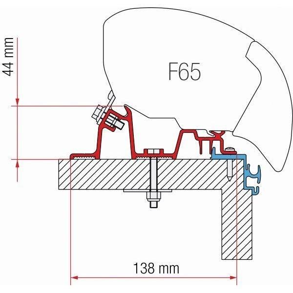 Adapter FIAMMA Kit Hobby Excellent für F80 F65