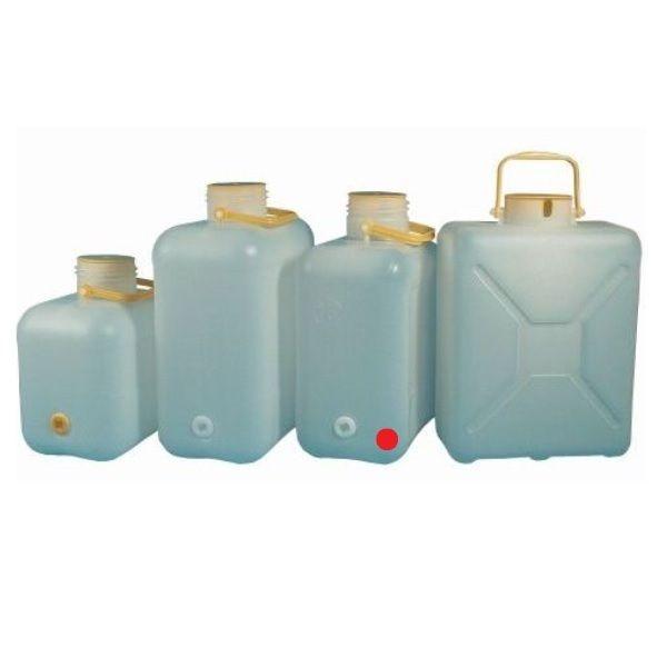 Weithals Wasserkanister COMET 16 Liter mit Bügelgriff