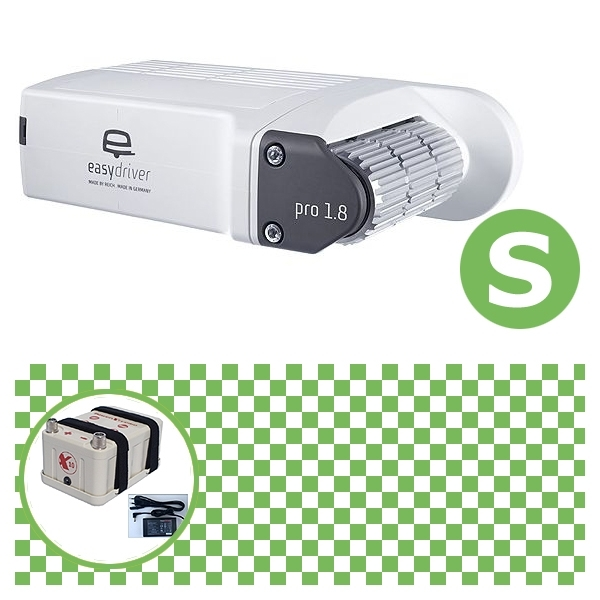 Easydriver pro 1.8 B2 Hobby BPW Rangierhilfe Reich mit Power Set Green S X10