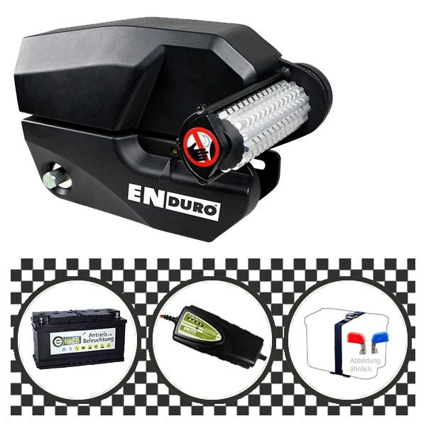 Enduro EM303+ Plus Rangierhilfe 11795 mit Power Set Black