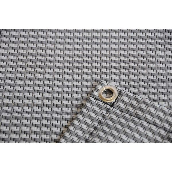 Zeltteppich Premium grau 300 x 600 cm