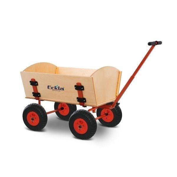 ECKLA Bollerwagen 77800 Trak Easy Trailer 70 Rollenlager