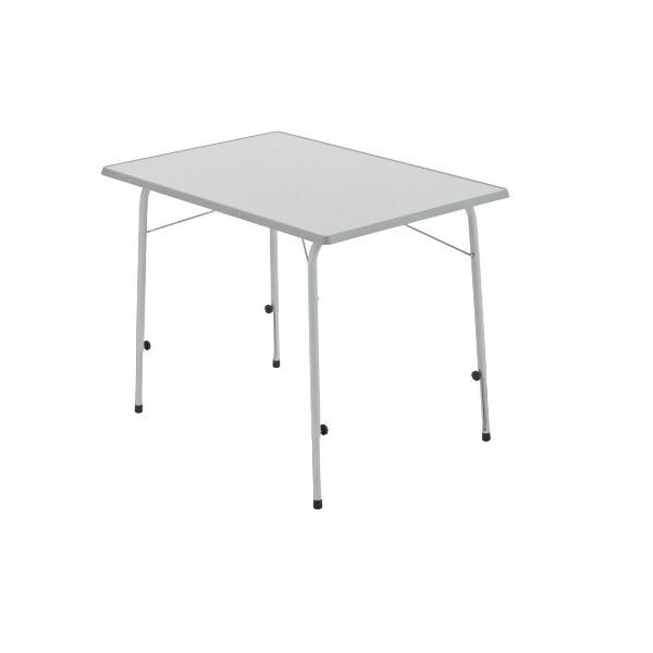 Campingtisch DUKDALF Stabilic I Tisch 80 x 60 cm hellgrau