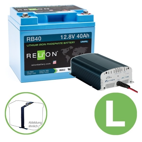 Premium Power Energy Set 40 Ah GREEN L Relion Xenteq