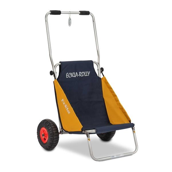 ECKLA Beach Rolly blau gelb PS-Reifen 55505