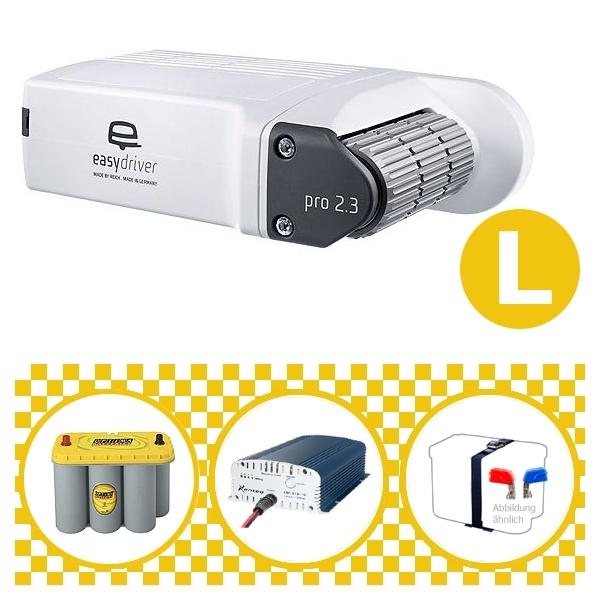 Easydriver pro 2.3 B2 Hobby BPW Rangierhilfe Reich mit Power Set Yellow L