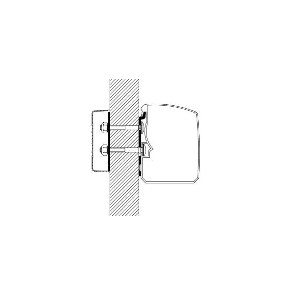 Adapter THULE Omnistor flach Wand für T 3200