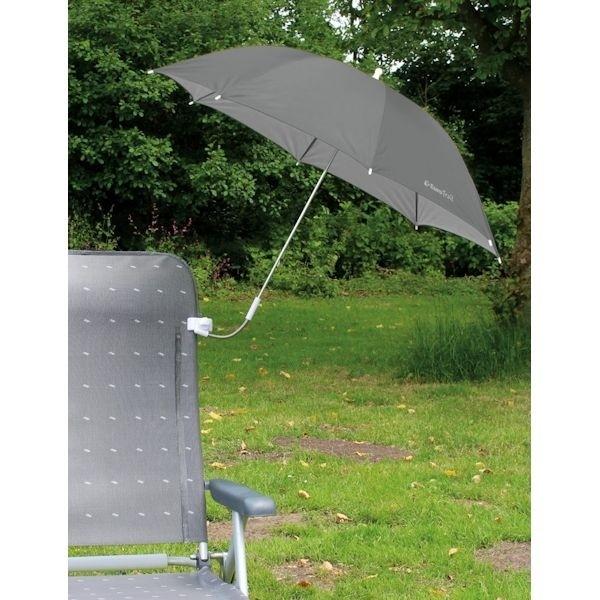 Sonnenschirm EUROTRAIL für Stühle grau