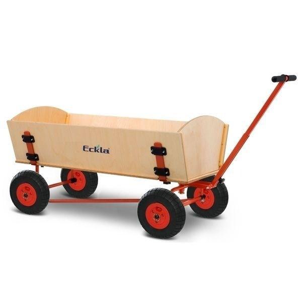 ECKLA Bollerwagen 77811 Trak XXL Fun Trailer 120 Rollenlager HAL