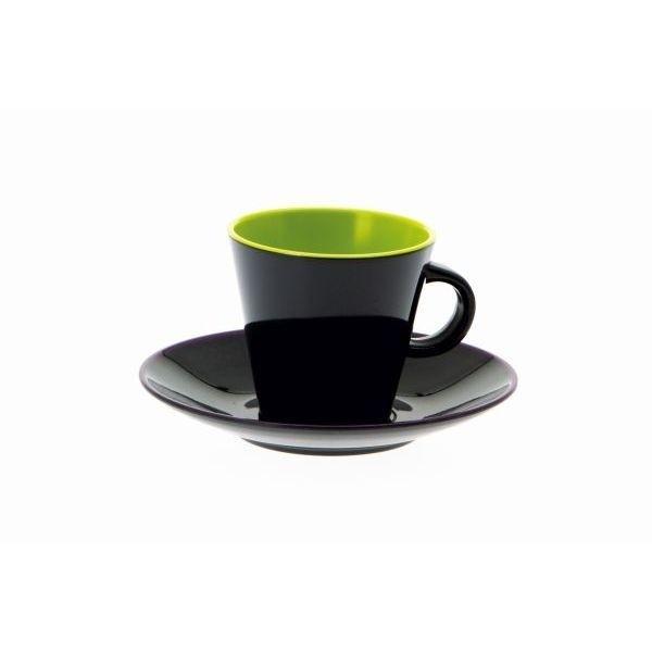 Espresso Set GIMEX lemon grau