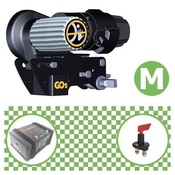 Truma Mover Go2 Rangierhilfe mit Power Set Green M X20