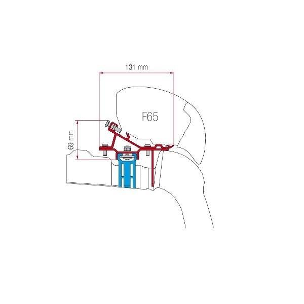 Adapter FIAMMA Kit VW Crafter > Bj. 2017 für F80 F65