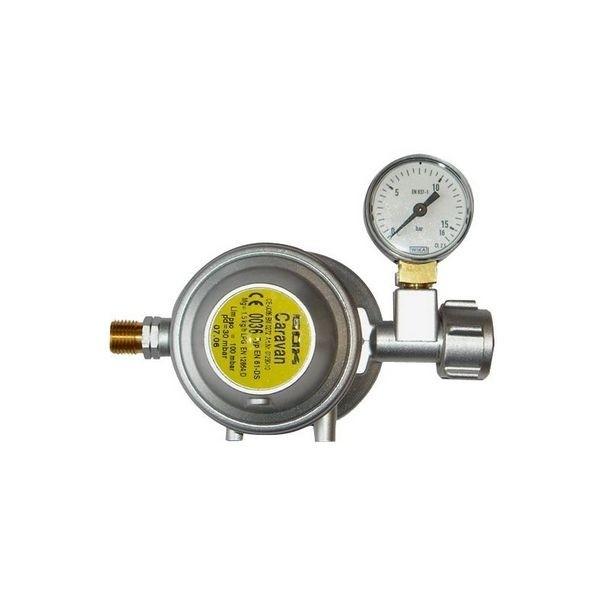 Gasdruckregler GOK 30 mbar 1,5 kg/h mit Überdruck Sicherheitseinrichtung