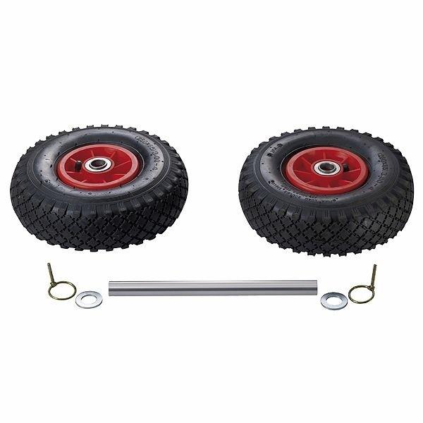 Doppelstützrad Easy Wheel Set Reich 537-1000