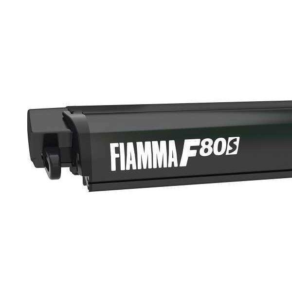 Markise FIAMMA F80 S 370 Royal grey Gehäuse deep black