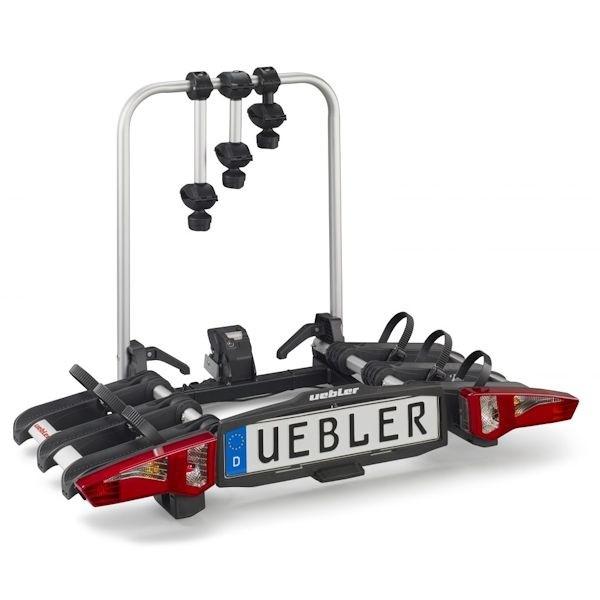UEBLER i31 Fahrradträger 15910DC 3 Räder faltbar Rückfahrkontrolle