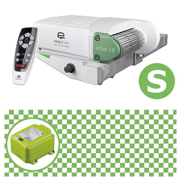 Easydriver active 2.0 Rangierhilfe Reich mit Power Set Green S