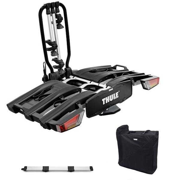 THULE 934 EasyFold XT 3 Fahrradträger inkl. Rampe und Tasche