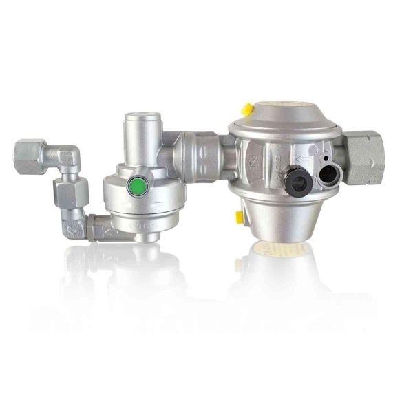 Gasdruckregler TRUMA Mono Control CS für Gastankmontage 105°