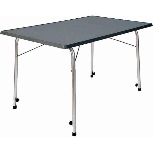 Campingtisch DUKDALF Stabilic III Tisch 115 x 70 cm anthrazit