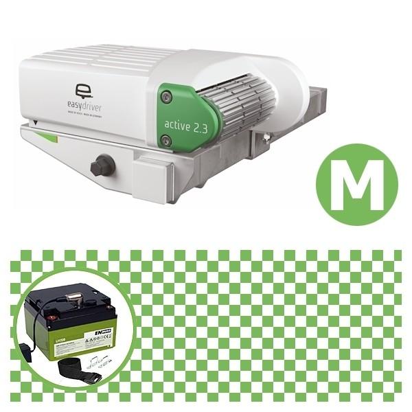 Easydriver active 2.3 Rangierhilfe Reich mit Power Set Green M Enduro