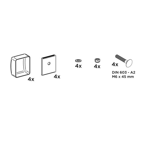 Adapter THULE OMNISTOR LMC Caravan Kit
