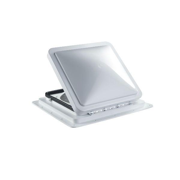 Dachfenster DOMETIC Fan Tastic Vent 7350 Dachhaube 40 x 40 cm weiß