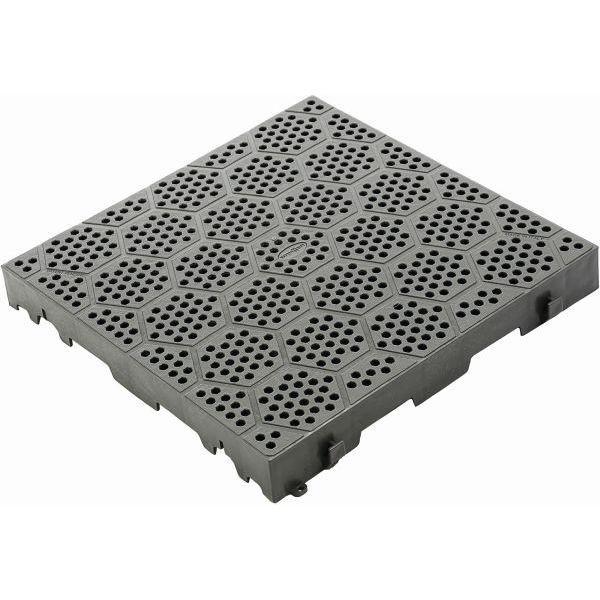 Bodenplatte Brunner Kunststoff Rost Deck Fit Grau Zeltboden