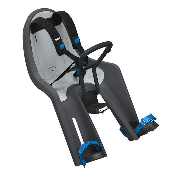 THULE RideAlong Mini Fahrrad-Kindersitz dunkelgrau