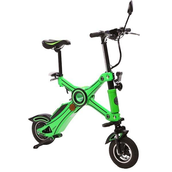 UEBLER E-Scooter 21020 faltbar in grün
