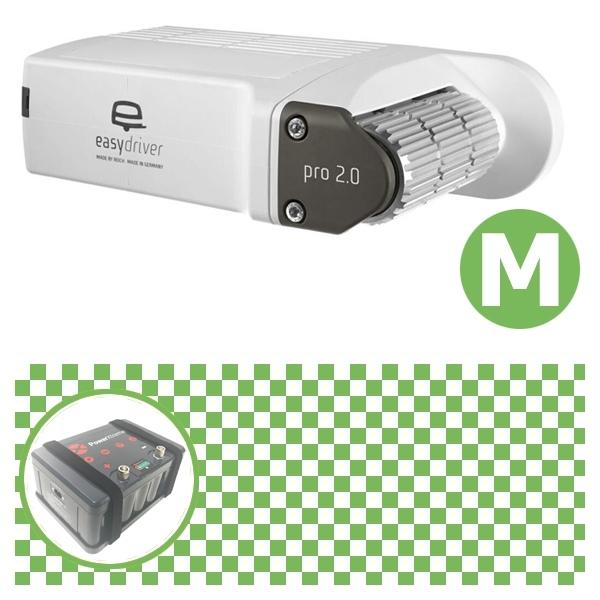 Easydriver pro 2.0 B2 Hobby BPW Rangierhilfe Reich mit Power Set Green M X20