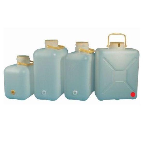 Weithals Wasserkanister COMET 14 Liter mit Ausschnitt für Kabel