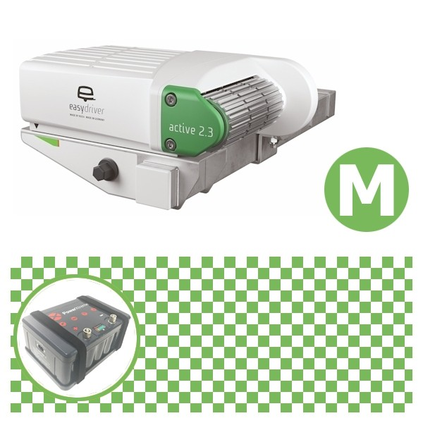 Easydriver active 2.3 Rangierhilfe Reich mit Power Set Green M X20