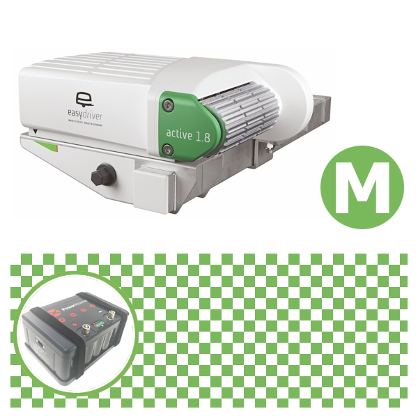 Easydriver active 1.8 Rangierhilfe Reich mit Power Set Green M X20
