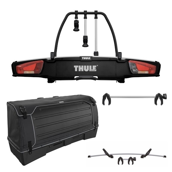 THULE 939 VeloSpace XT 3 Fahrradträger Set inkl. 9383 Heckbox 9381 Erweiterung