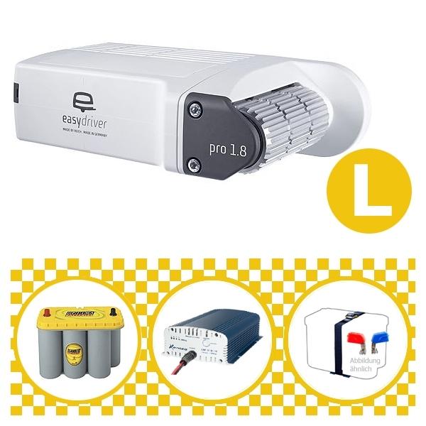 Easydriver pro 1.8 B2 Hobby BPW Rangierhilfe Reich mit Power Set Yellow L