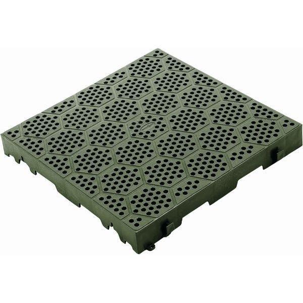 Bodenplatte BRUNNER Kunststoff Rost Deck Fit grün