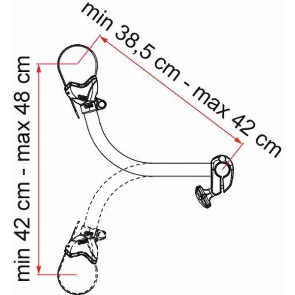 Fahrradhalter FIAMMA Bike Block Pro S 3