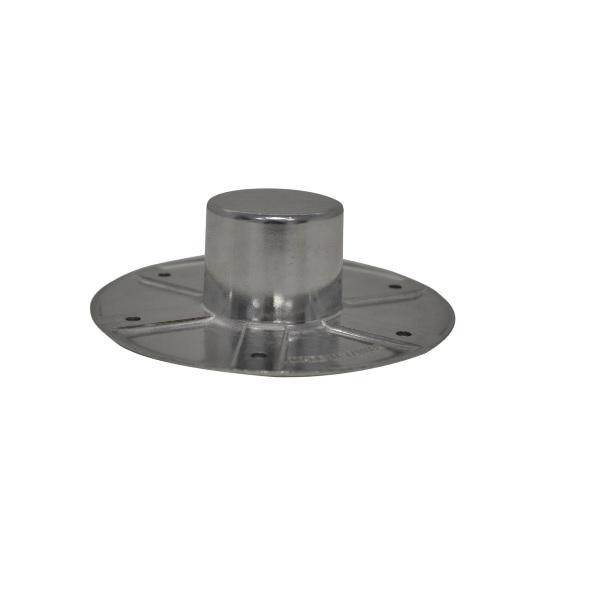 Einlass Rosette FAWO Haltekonsole für Rohr Tischbein