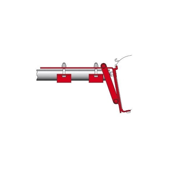 Adapter Kit FIAMMA Roof Rail für Compass