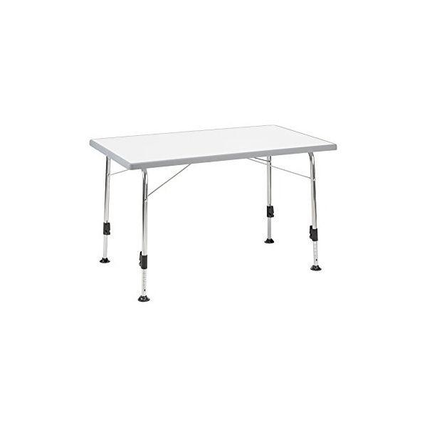 Campingtisch DUKDALF Stabilic II Tisch 100 x 68 cm hellgrau