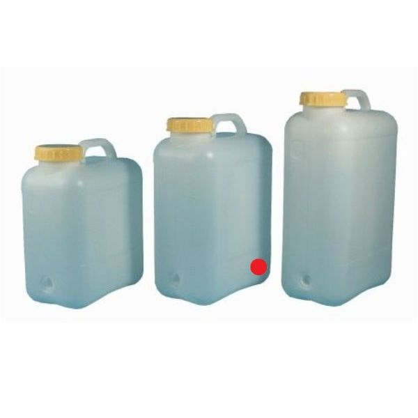Weithals Wasserkanister COMET 16 Liter mit Tragegriff