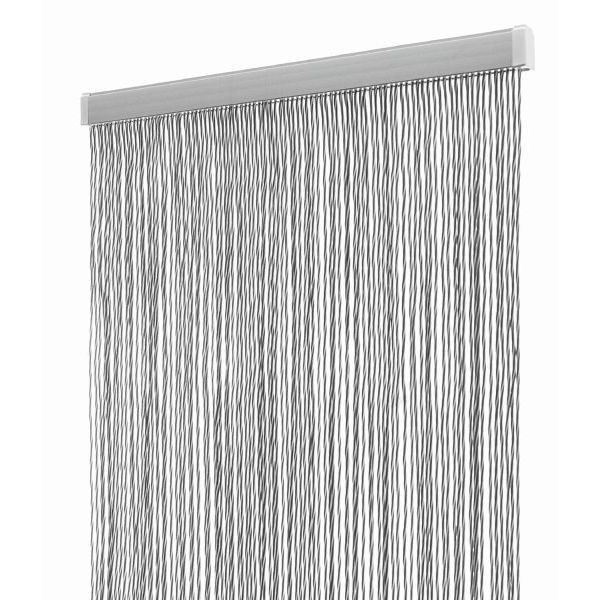 Türvorhang ARISOL Kordelvorhang STRING grau 60 x 190 cm